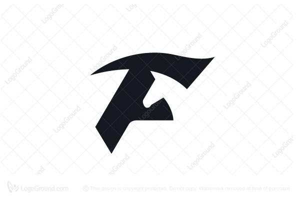 Letter F Logo Horse Logo Horse Logo Horse Logo Design Letter F