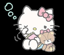 Hello Kitty tiene que cuidar a su mejor amigo Tiny Chum. Esta pareja es realmente adorable y carismática.