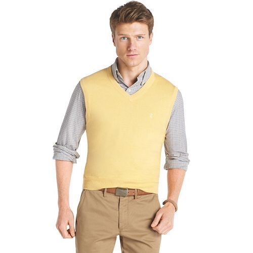 IZOD Solid Sweater Vest #Kohls #MensFashion | Style for Him ...
