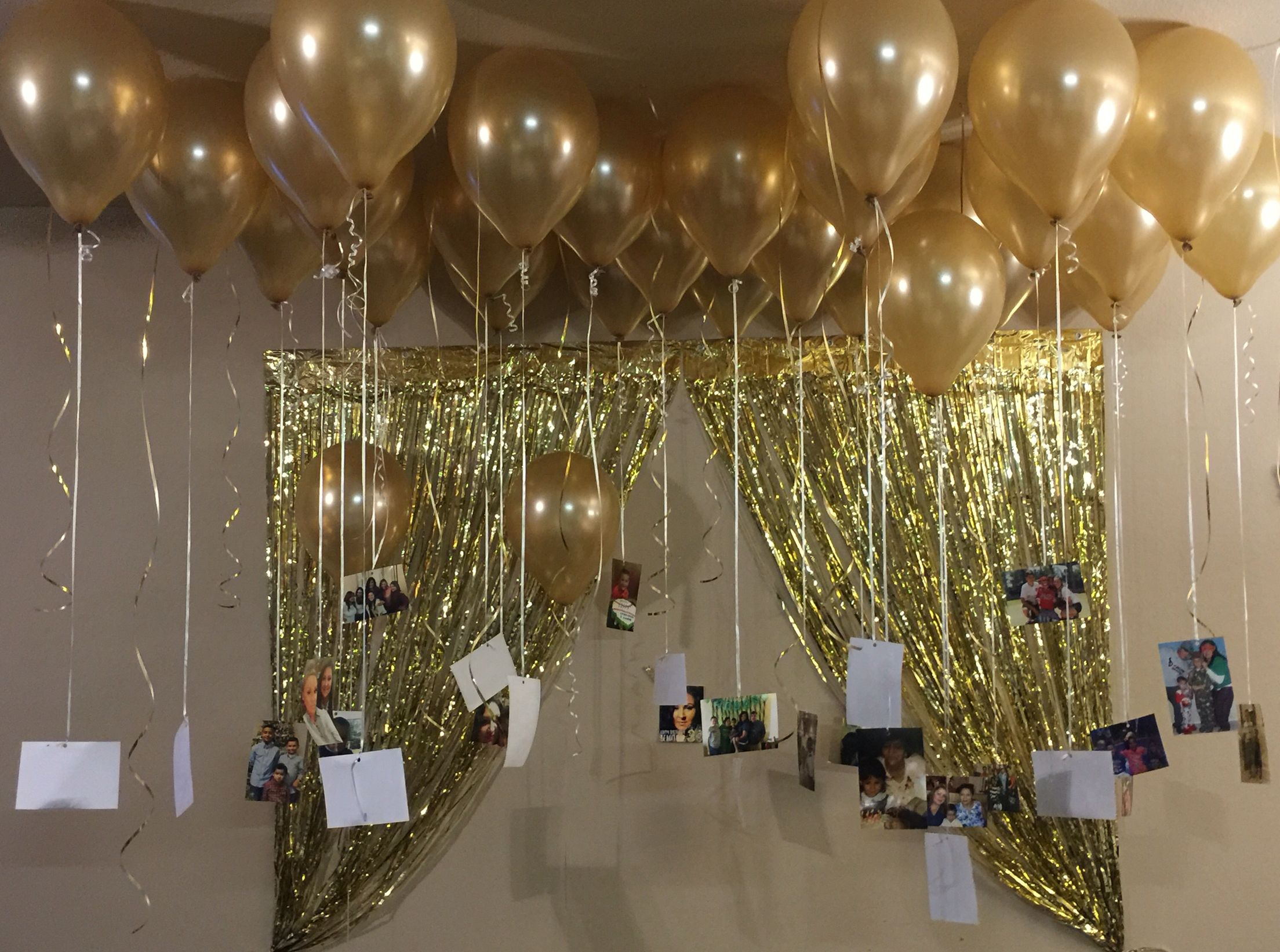 30 Balloons With 30 Growing Up Memories Photos Surprise Birthday
