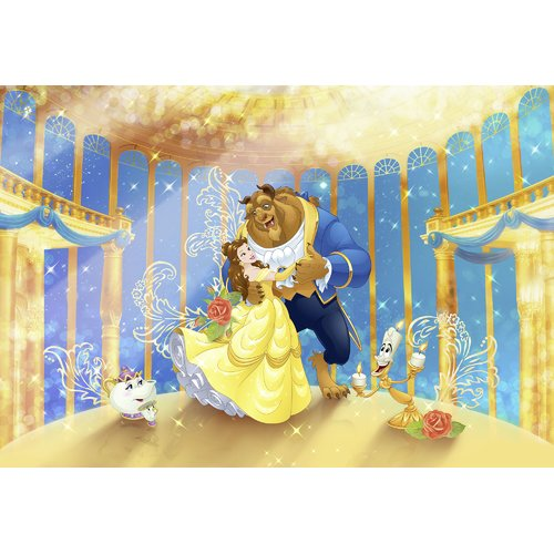 Best Disney Princess Beauty And The Beast 2 54M X 368Cm Wall 400 x 300