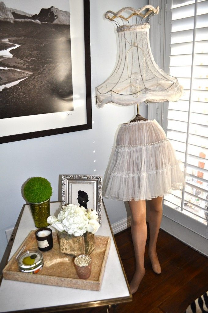 Mannequin Lamp lamp made with 1930's mannequin legs are you inspiredthese