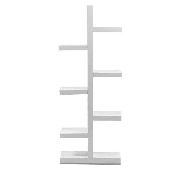 Estantera lacada blanco Medidas 70x28x181 Muebles de salon
