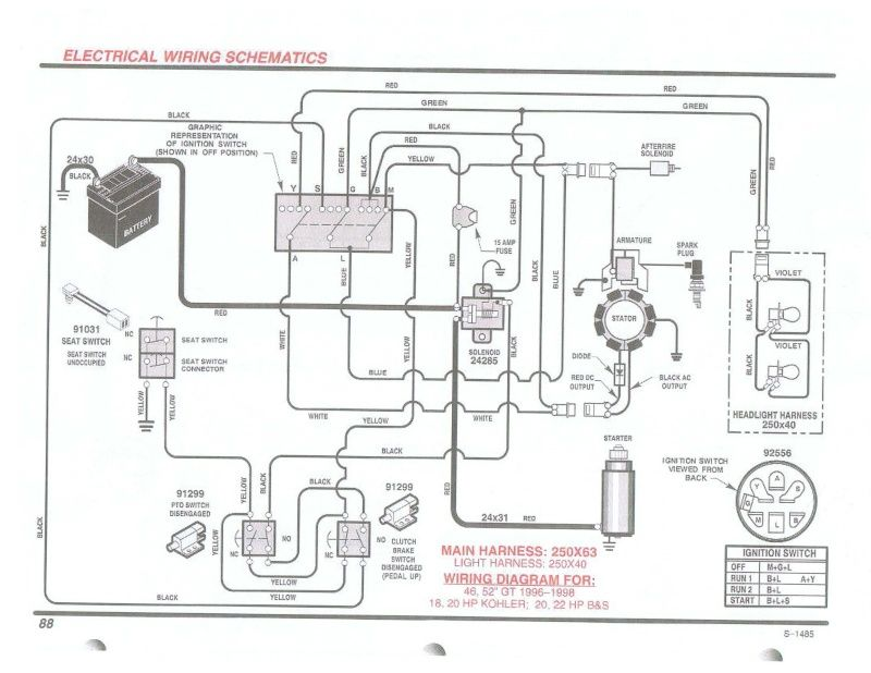 Briggs And Stratton 13 Hp Wiring Diagram 1998 K1500 Wiring