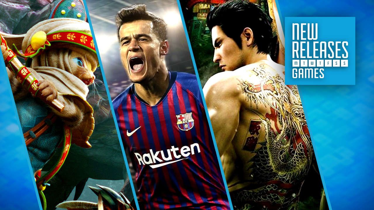 Top New Game Releases This Week On Switch, PS4, Xbox One