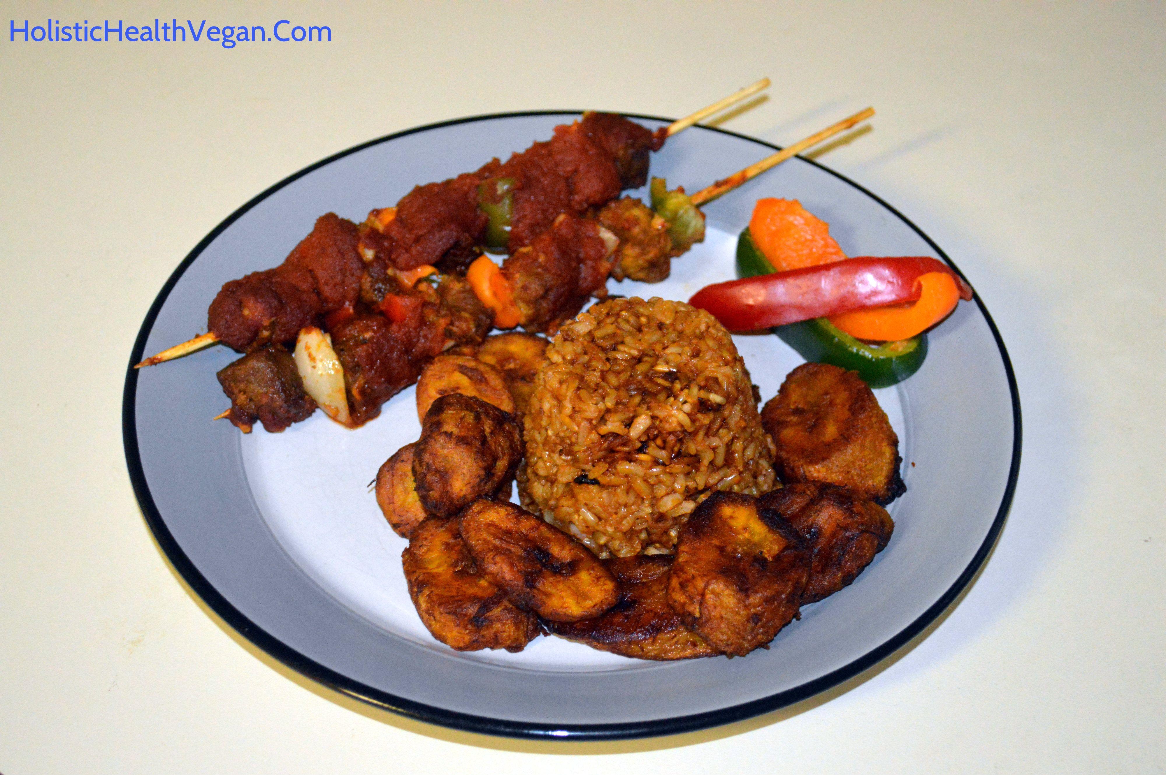 Vegan Kyinkyinga Suya Ghanaian Kebab Ghanaian Food Kebab Food