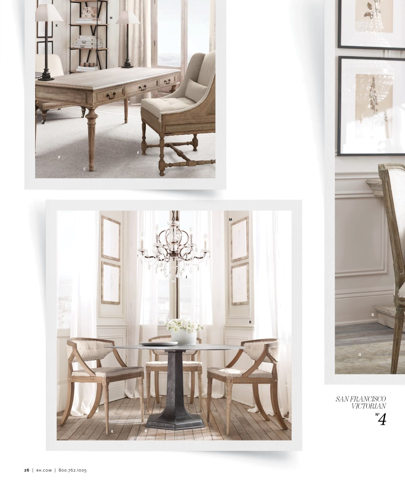2013 Small Spaces Catalog | Restoration Hardware | Inspiration for ...
