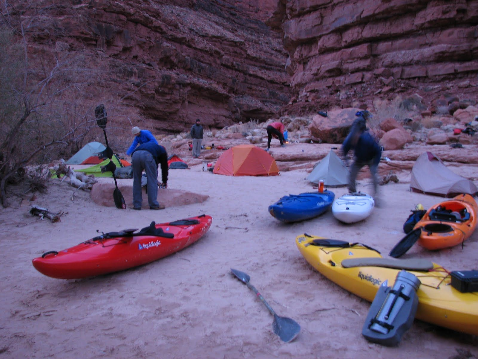 Photo of Kayak & Camp!! Great site for self-support kayak trips..