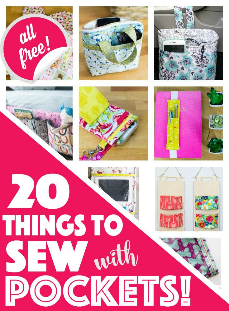 20 Things To Sew With Pockets All Free Free Sewing Patterns