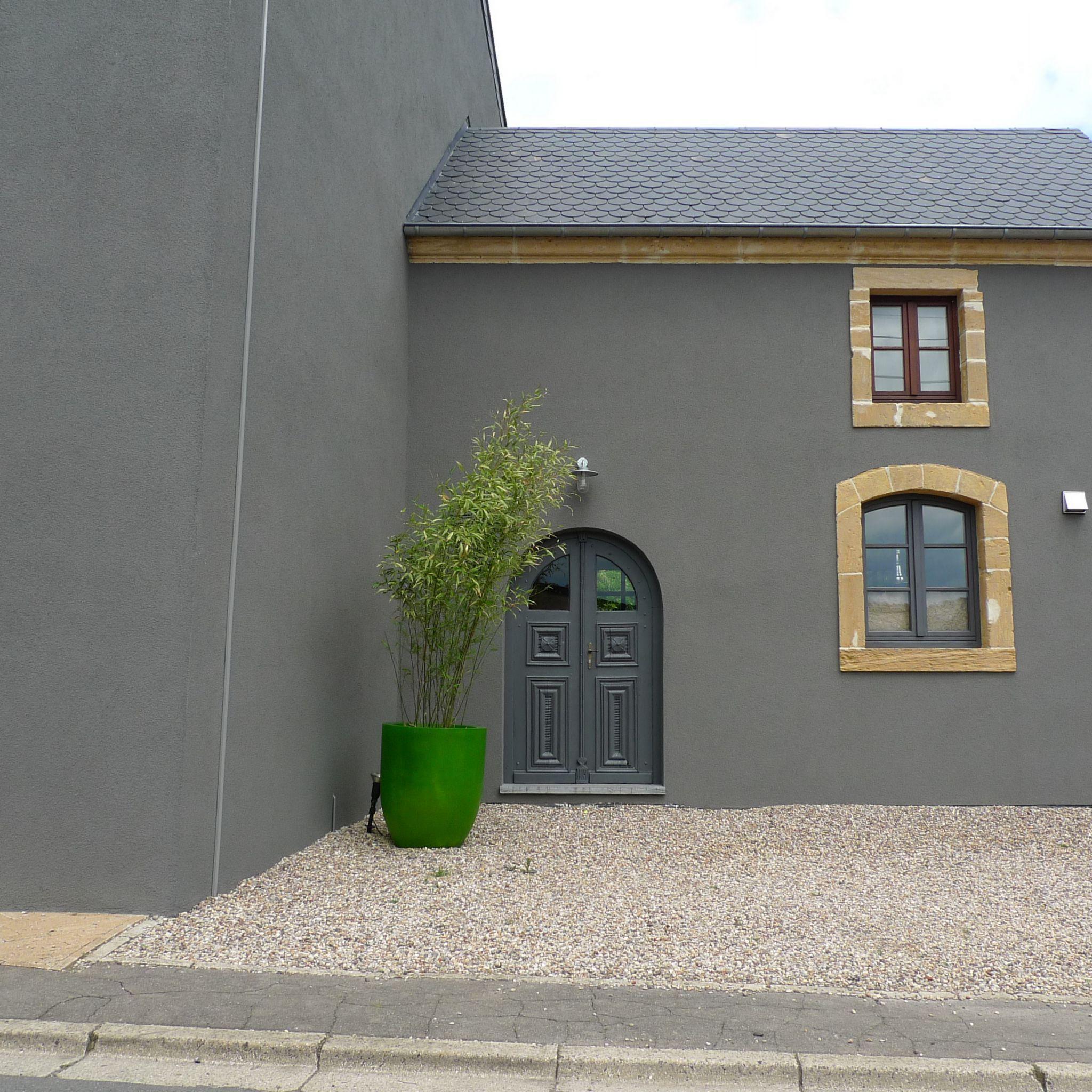 facade maison grise et blanche r sultat de recherche d images pour fa ade house couleurs facades gris maison - Recherche Google Façade Verte, Couleur Façade  Maison, Extérieur Gris