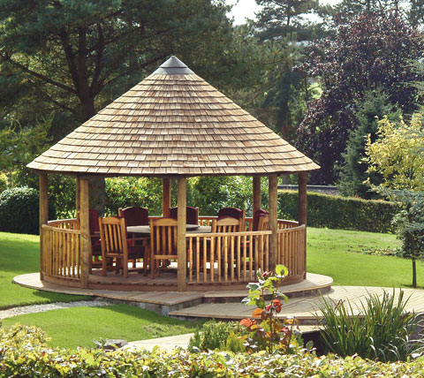 Breeze House Google Search Summer House Garden Round Gazebo