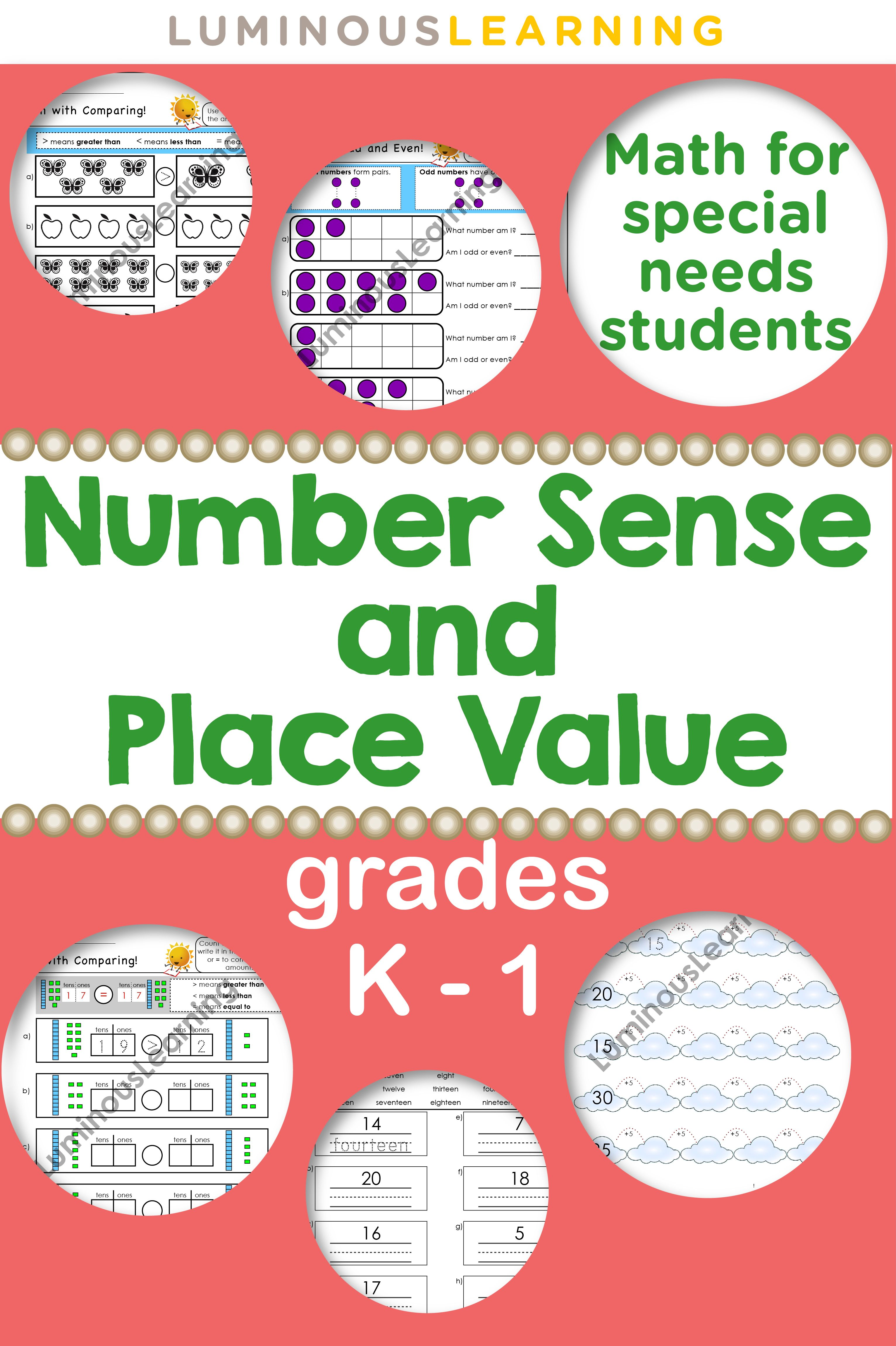 Providing Math Help With Visual Math Worksheets Which Include Base 10 Blocks 10 Frames And