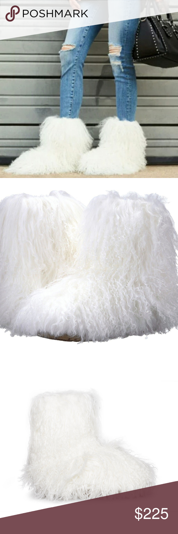 04c3a4e5f3f UGG Fluff Momma Mongolian Shag Boots Brand New with Box The shag ...