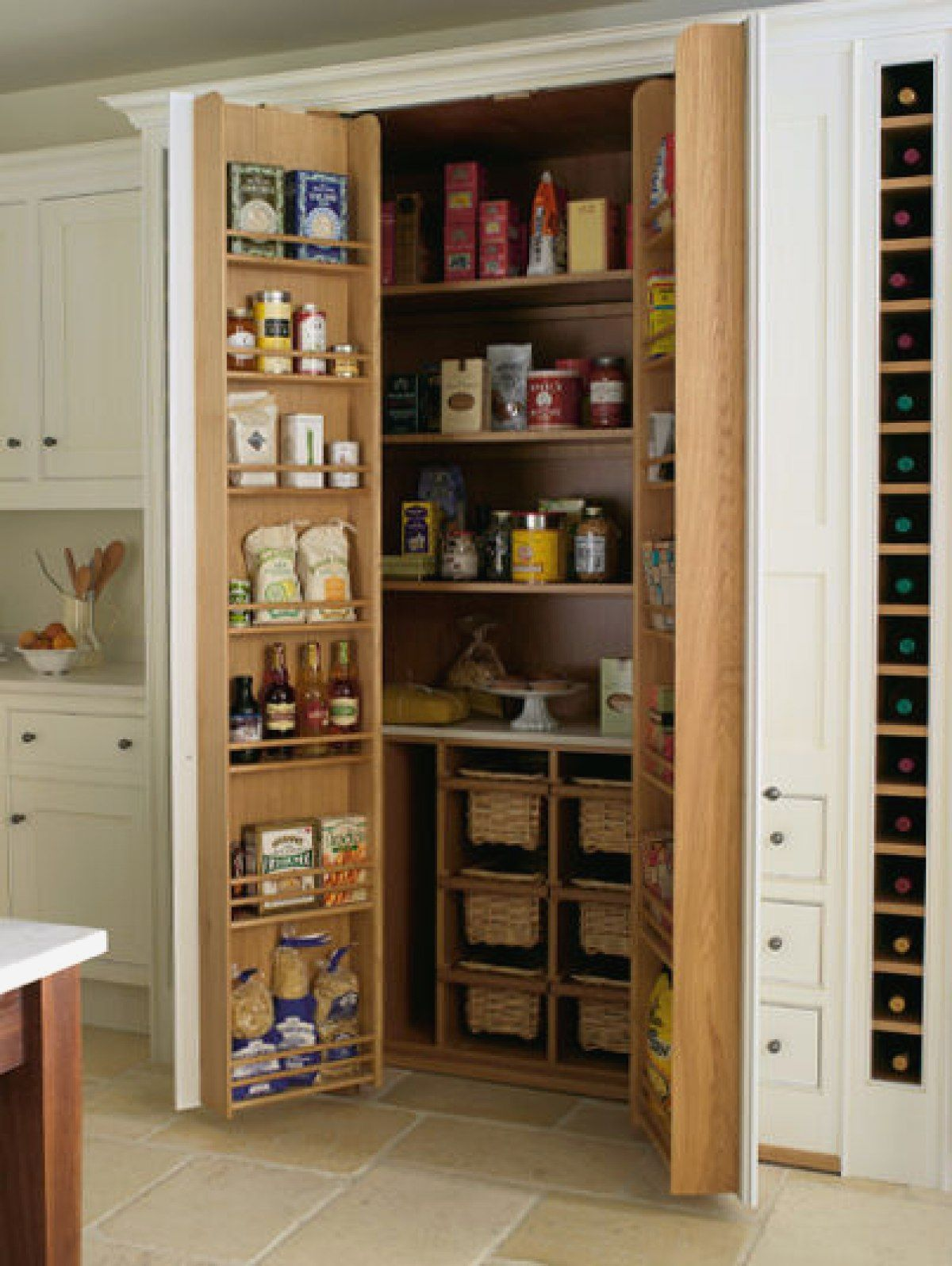 Armoire Rangement Cuisine Beautiful Armoire De Rangement Pour Clever Kitchen Storage Kitchen Storage Solutions Tiny House Kitchen