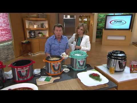 Power Pressure Cooker XL 8 qt. Digital with Glass Lid with Leah Williams - YouTube