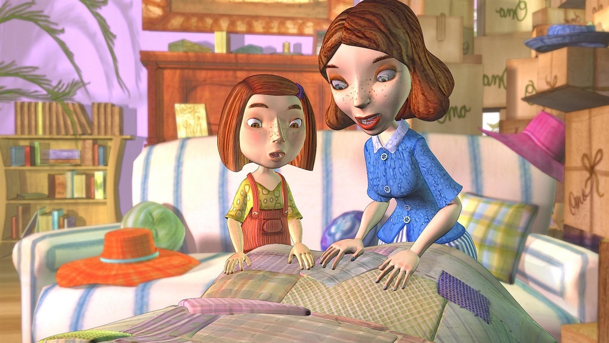 Une courtepointe pour grandmaman Film pour enfants