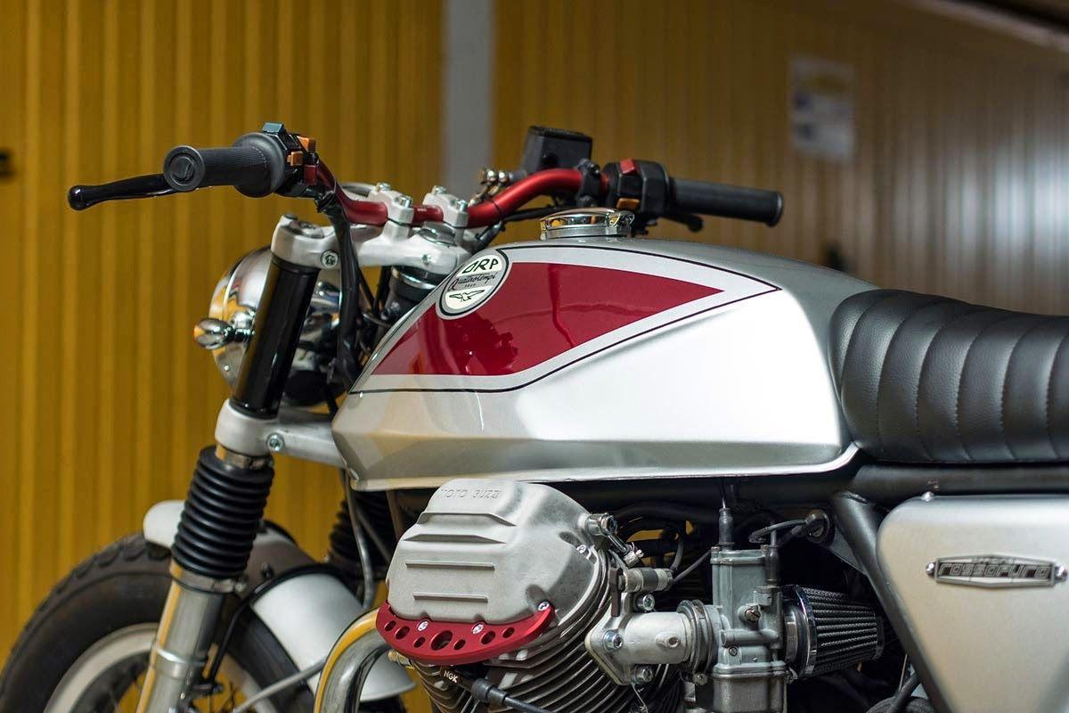 "Racing Cafè: Moto Guzzi SP 1000 ""Quattrotempi"" by Officine Rossopuro"
