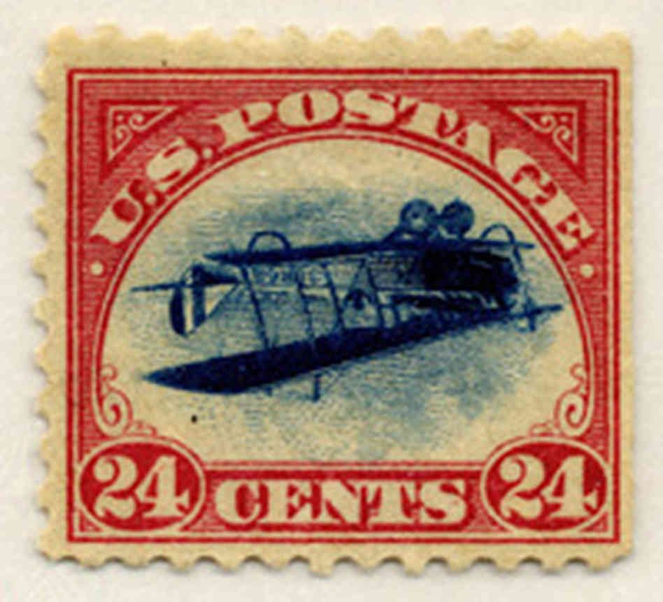 Inverted Jenny' Stamp On Auction Block | STAMP COLLECTION