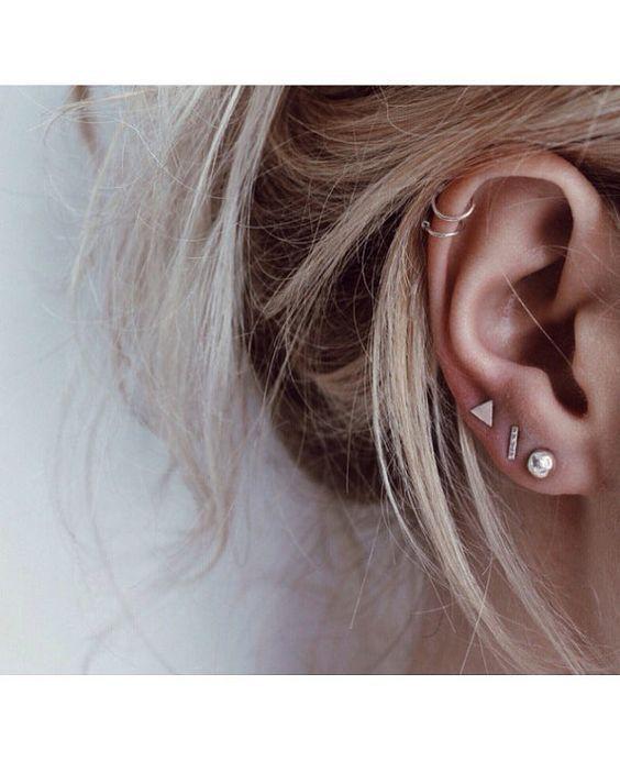 Bildergebnis für drei Piercings am Ohr – Angela Becker Blog