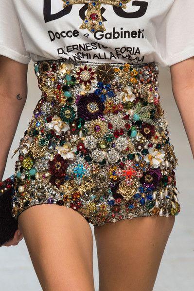 Dolce & Gabbana at Milan Fashion Week Spring 2017