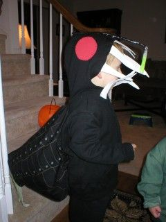 angler fish costume (no directions)
