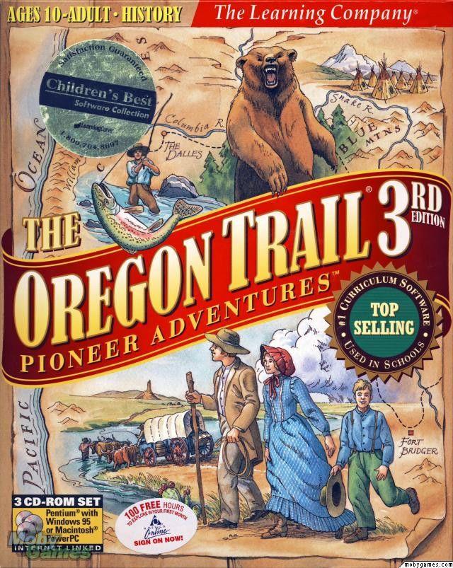 OREGON TRAIL 3 PIONEER ADVENTURES +1Clk Windows 10 8 7