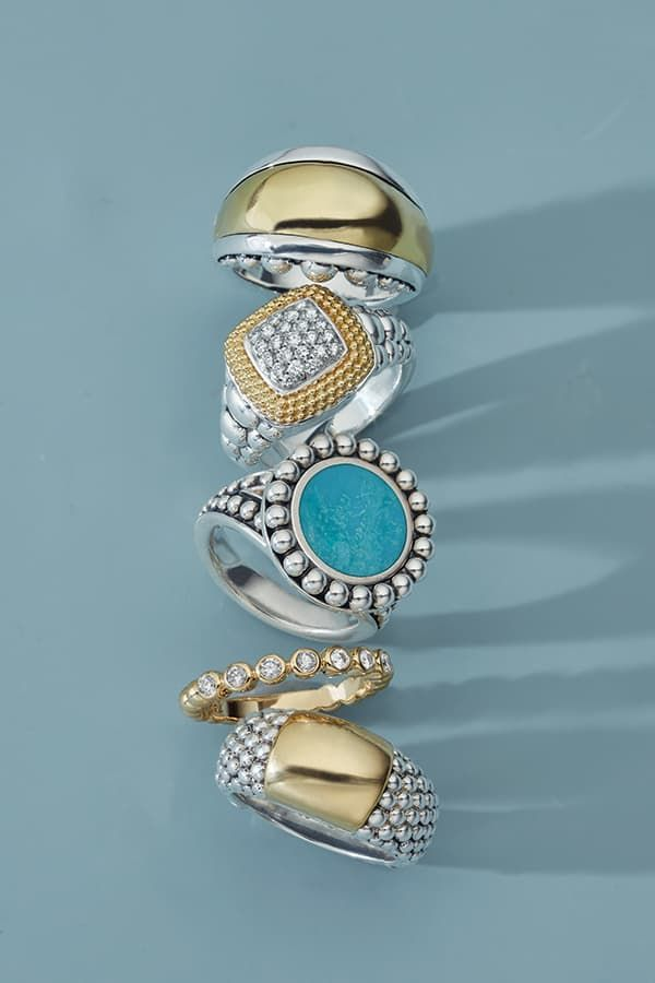 The perfect ring for you this summer. #diamondrings #finejewelry #stackingrings