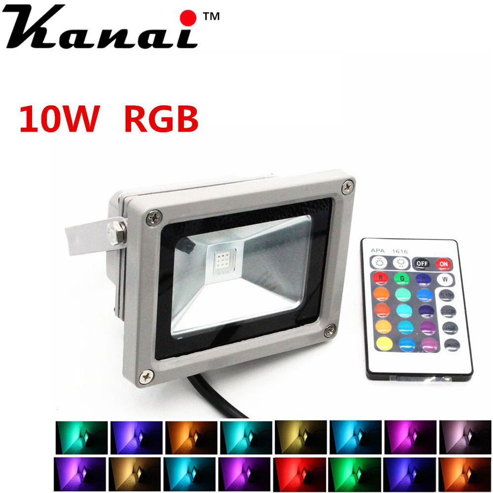 10W 20W 30W 50W RGB Warm White LED Flood Light Outdoor Garden Security Spot Lamp