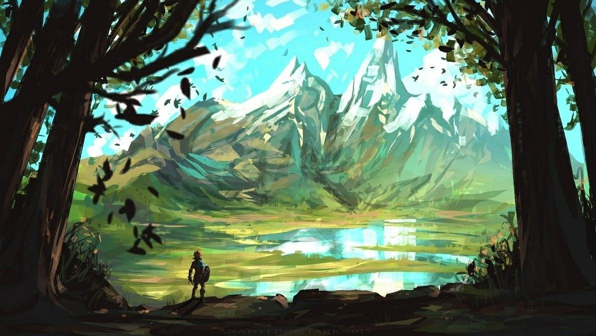 Pin By Kelsey Coleman On Zelda Breath Of The Wild Art Cool Artwork