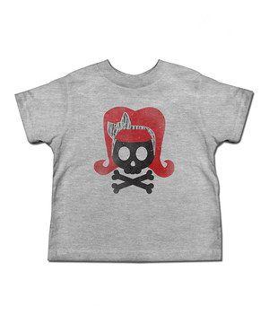 Loving this Heather Gray Rockabilly Tee - Toddler & Girls on #zulily! #zulilyfinds
