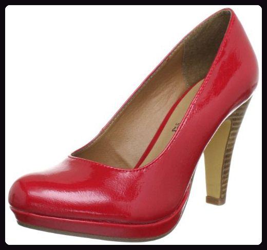 s.Oliver Casual 5 5 22440 30, Damen Pumps, Rot (Chili Patent