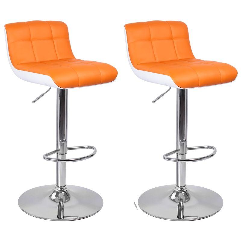 tabouret de bar orange comparer les prix avec cherchons - Tabouret Bar Orange
