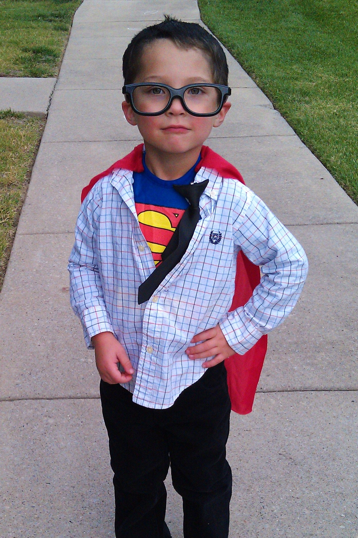 Clark Kent (With images) Superman costumes, Last minute