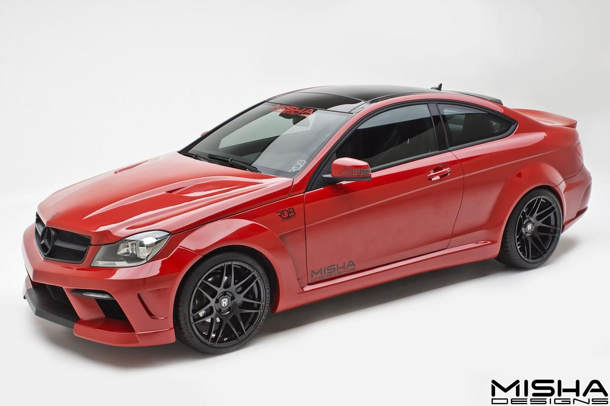 Black bison edition tuning package for the w204 mercedes benz c class - Black Bison Edition Tuning Package For The W204 Mercedes Benz C Class 53