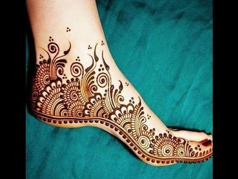 اجمل نقش حناء جديد 2017 نقوش حنة اماراتية روعة نقش حنه خليجي سوداني مغربي عماني Youtube Unique Henna Henna Foot Henna