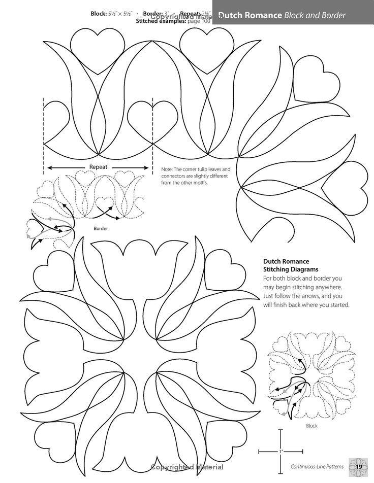 patrones bordado | Embroidery stitches, techniques & patterns ...