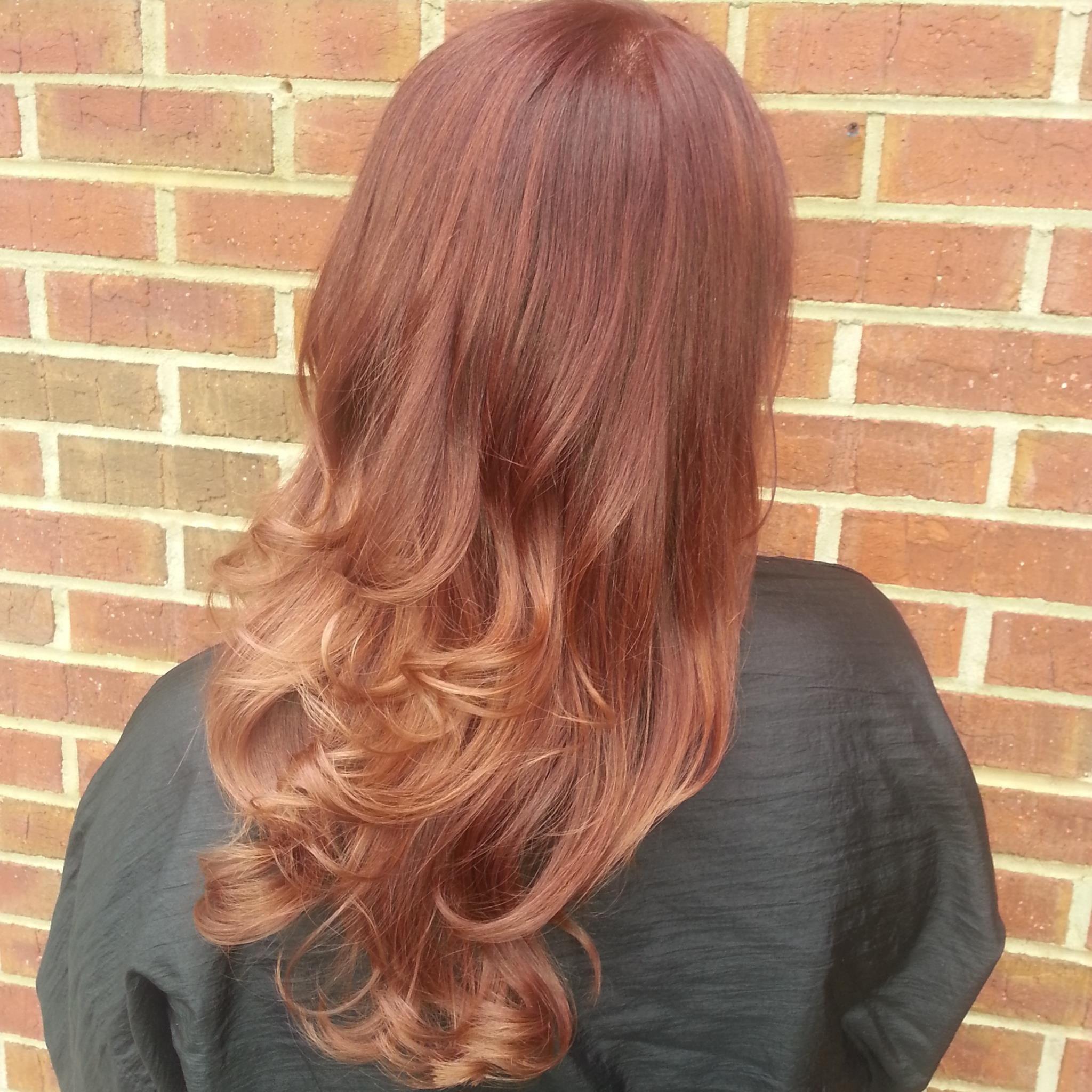 Soft Auburn Ombre   Hair   Hair, Auburn ombre, Rogue hair