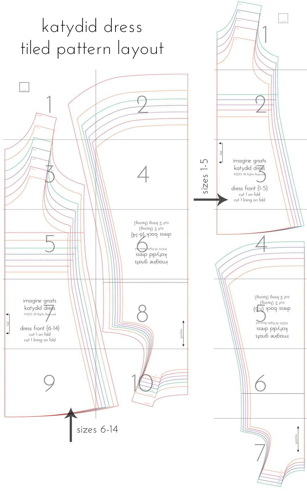 katydid dress {for girls} free knit sundress pattern | Babykleidung ...