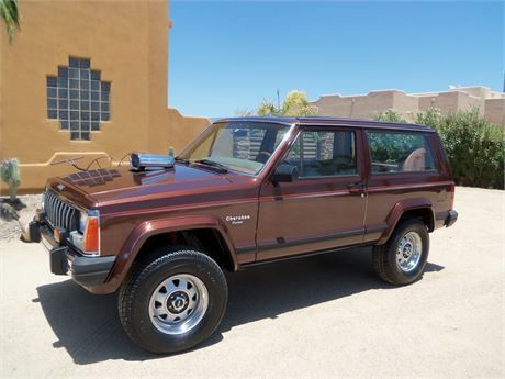 Beautiful 1984 Jeep Cherokee Pioneer 4wd Posi Rear End