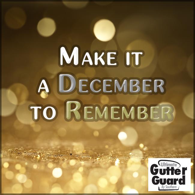 December Gutter Guard