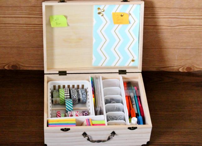 Diy Office In A Box