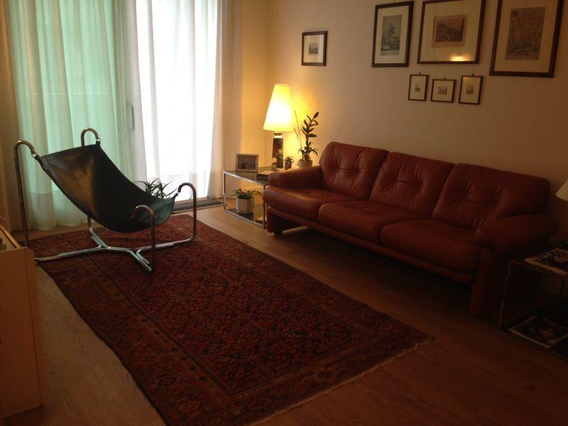Nostro recente restauro seduta BAFFO di Busnelli e divano B&B ...