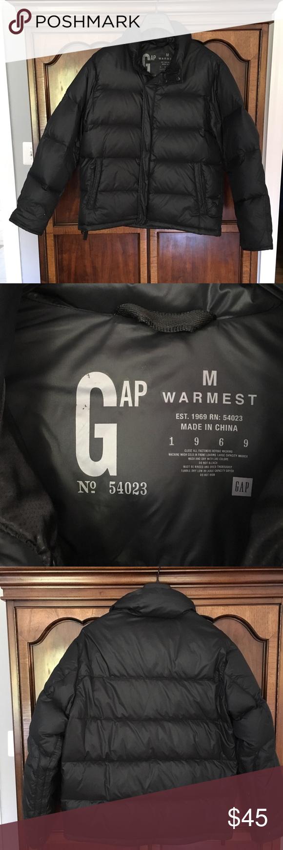 Nwot Gap Down Feather Puffer Jacket Jackets Puffer Jackets Gap Jacket [ 1740 x 580 Pixel ]