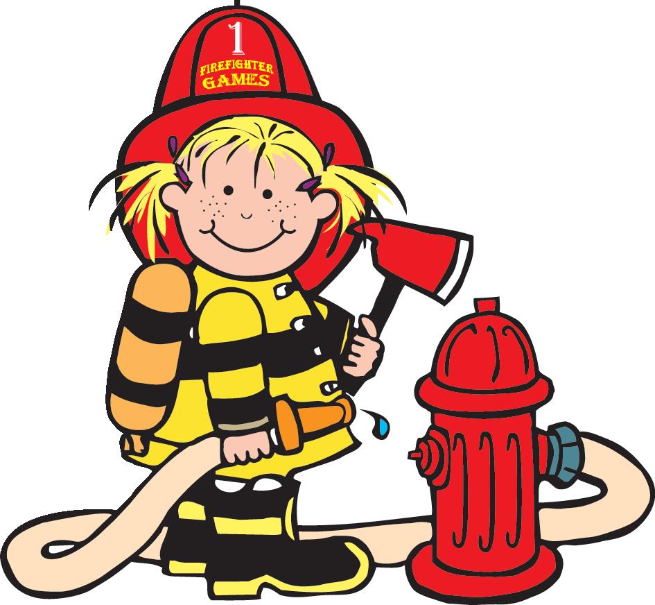 Lil firefighter Clipart bombero, Seguridad contra