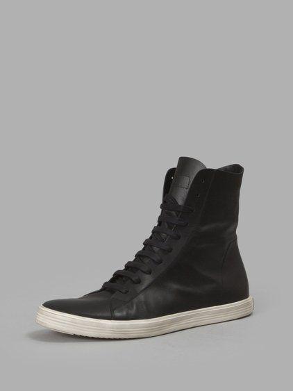 RICK OWENS Rick Owens Men S Black Mastodon Sneakers.  rickowens  shoes   sneakers a474124e5ec
