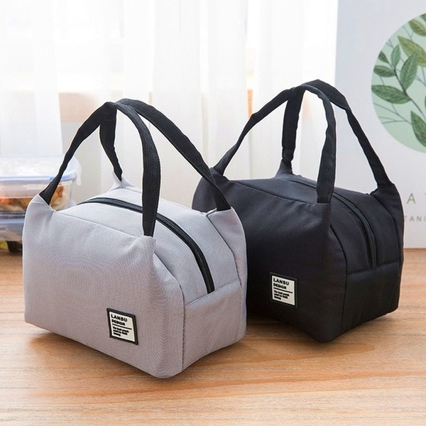 Portable Insulated Thermal Cooler Bento Lunch Box Tote Picnic Pouch Storage Bag
