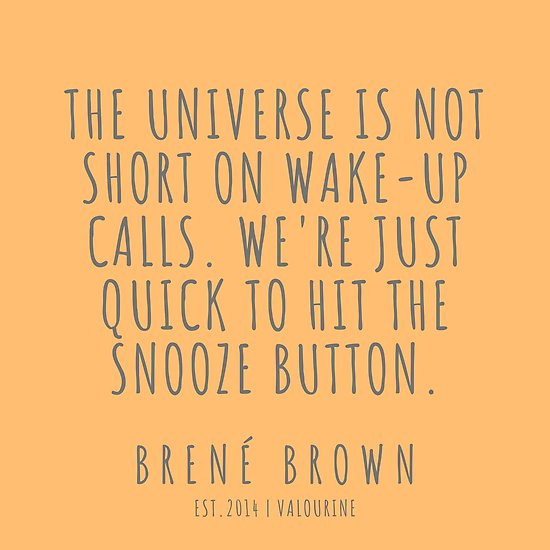 8   Brené Brown Quote Series    190615 Poster by QuotesGalore