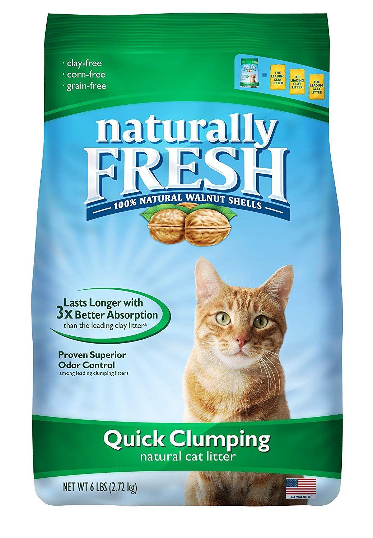 Naturally Fresh Litter 210016 QuickClumping Cat Litter, 6