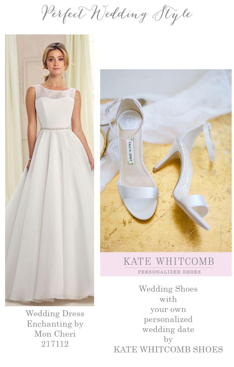 Wedding Dress Enchanting By Mon Cheri 217112 Wedding Shoes With