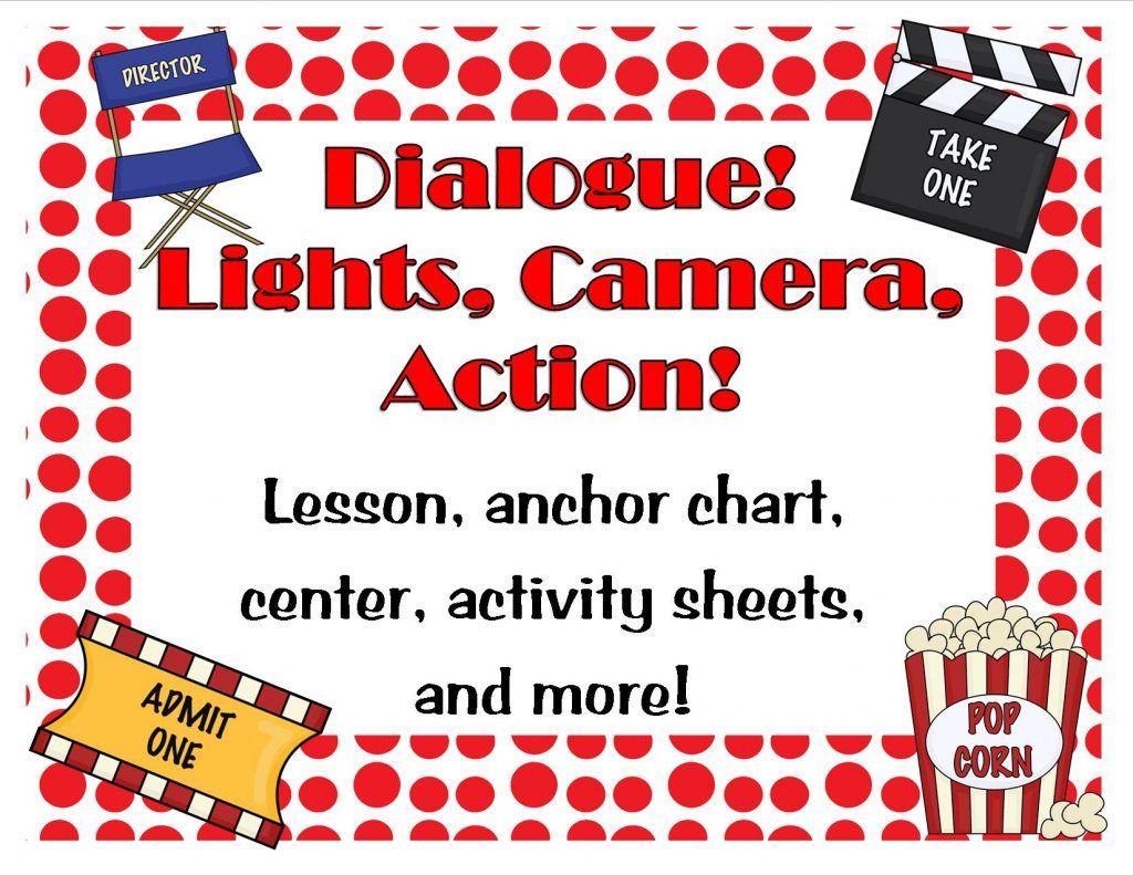 Lights Camera Action Dialogue